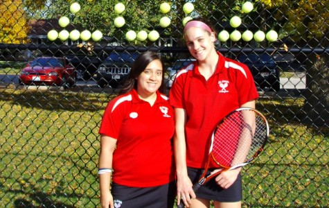 Seniors Koerber and Meath cap off Tennis career with impressive recognition