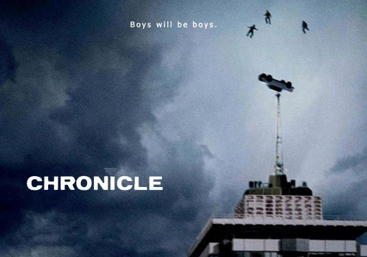 Chronicle: a new direction in super hero films