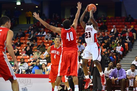 Sophomore Jordan Ash rises up and makes a shot in the 2012 Chicago Elite Classic