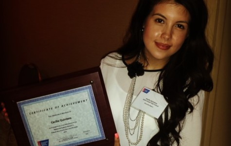 Senior Quintero completes mentorship at Rush University Medical Center