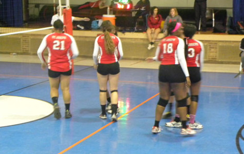 The volleyball team lost starters from last year, but have hung tough in 2015.
