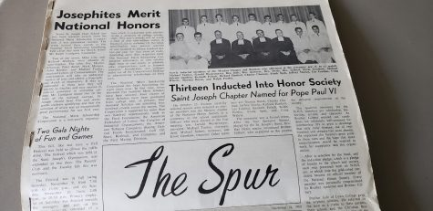 Looking back at the first St. Joseph school newspaper